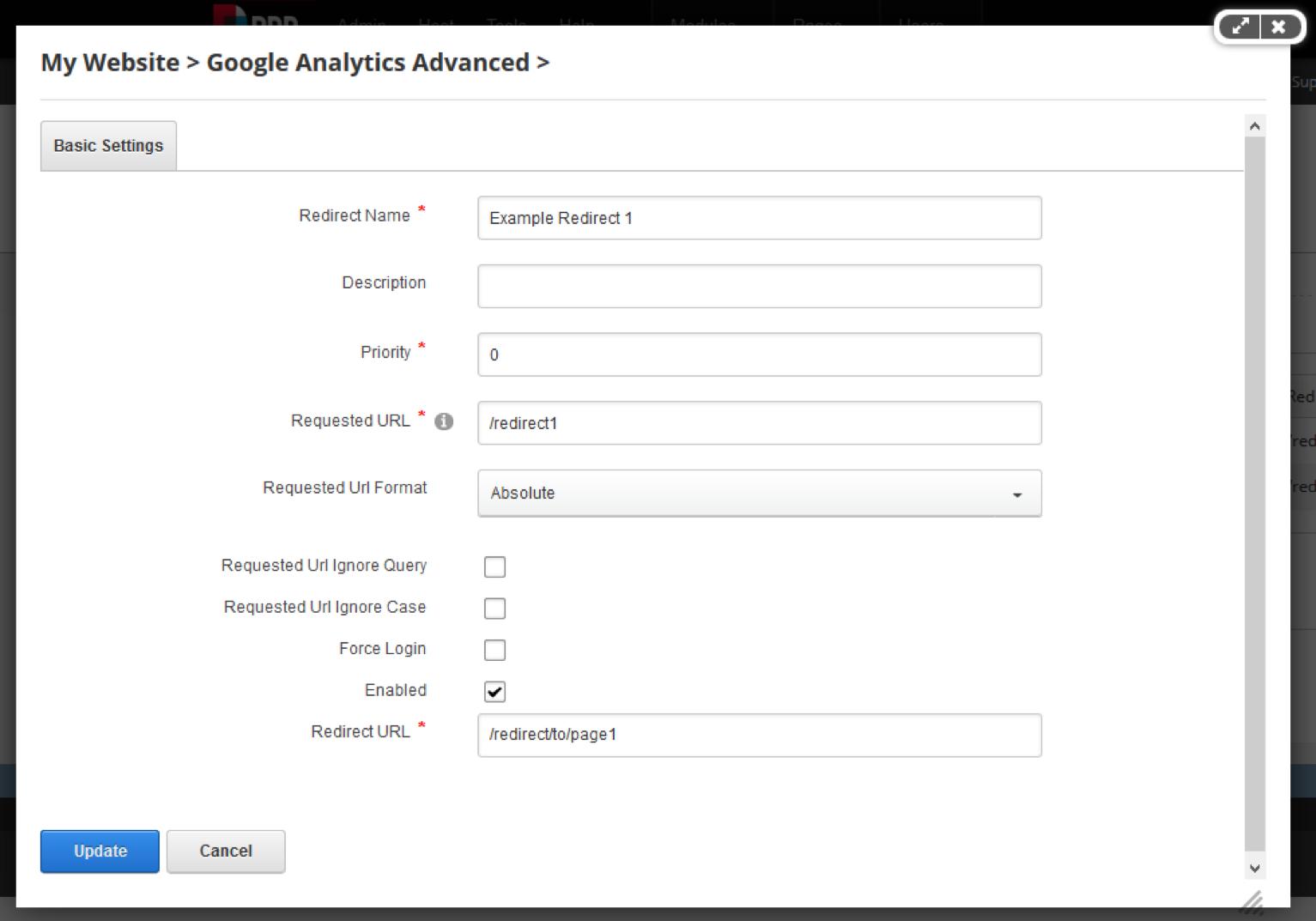 DNN Google Analytics Advanced - weweave
